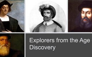 Explorers from the Age of Discovery
