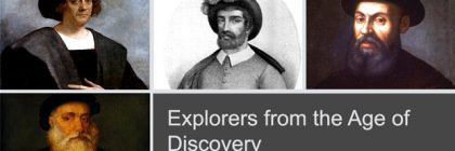 Explorers of the Age of Discovery