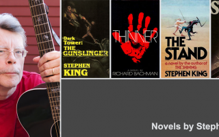Novels and other works by Stephen King