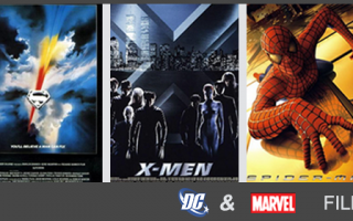 Films based on Marvel and DC Comics