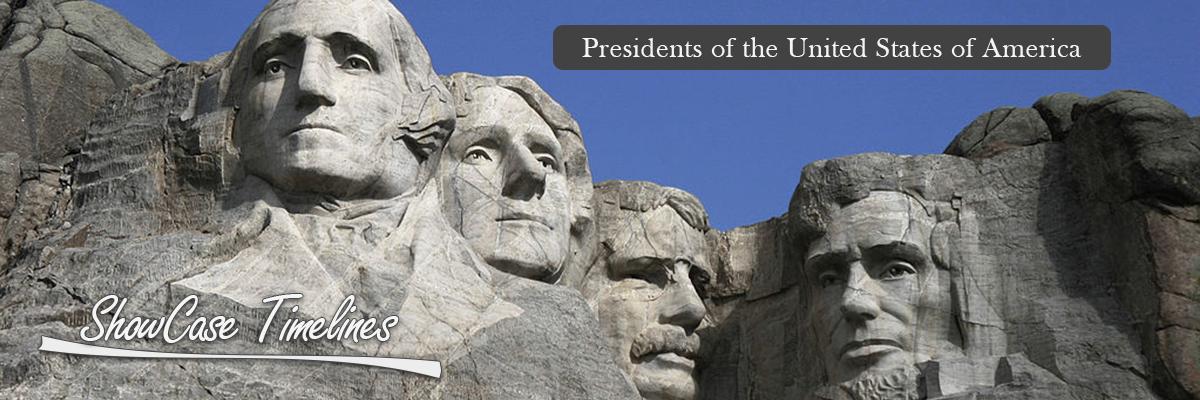 Presidents Of The United States America ShowCase Timeline